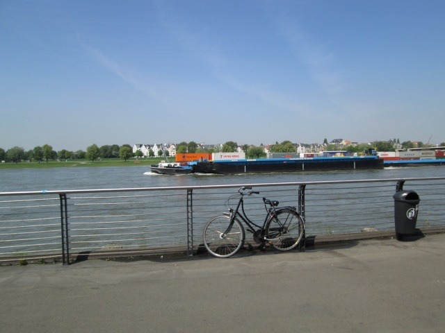 Barge on the Rhine