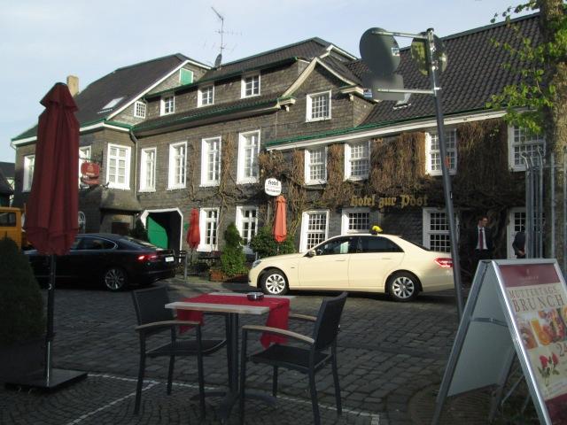 Hotel Zur Post from Graftather Hof