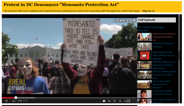 Monsanto products like Agent Orange, DDT, and PCBs have done a lot of damage