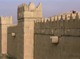 Ancient Nineveh wall