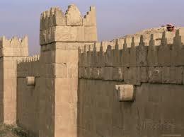 Ancient Nineveh wall