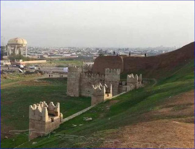 Remains of Nineveh walls
