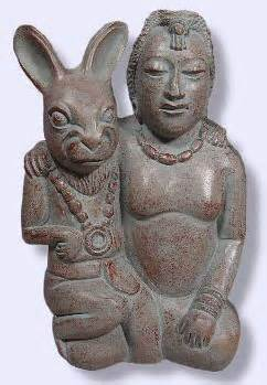 Mayan-moon-goddess-with-her-bunny